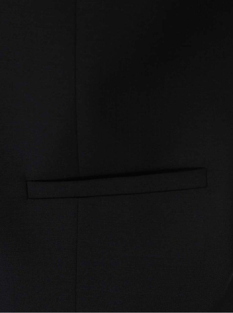 Černá vlněná vesta J.Lindeberg Will