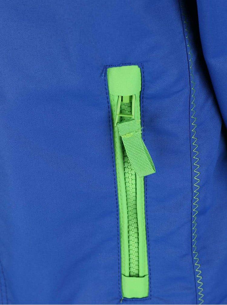 Zeleno-modrá chlapčenská bunda Blue Seven
