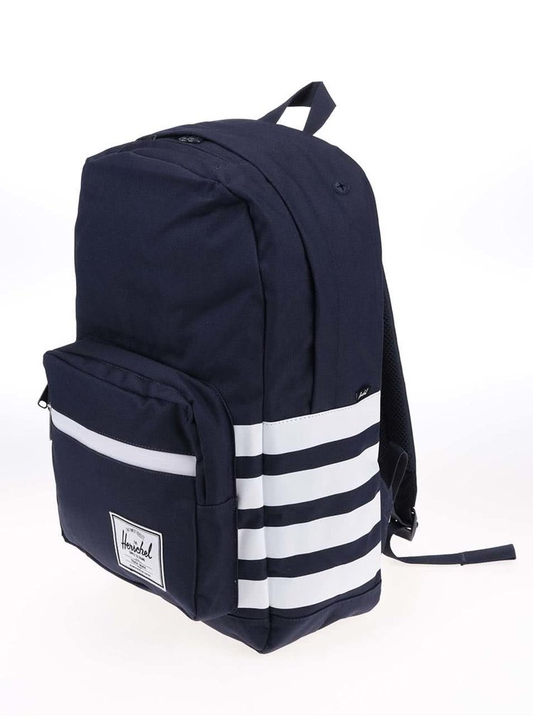 Tmavomodrý batoh s pruhmi Herschel Pop Quiz