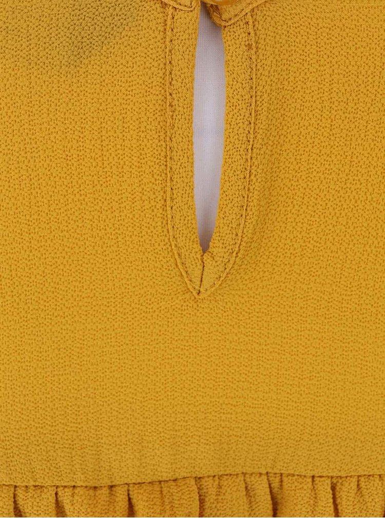 Bluză Dorothy Perkins galbenă