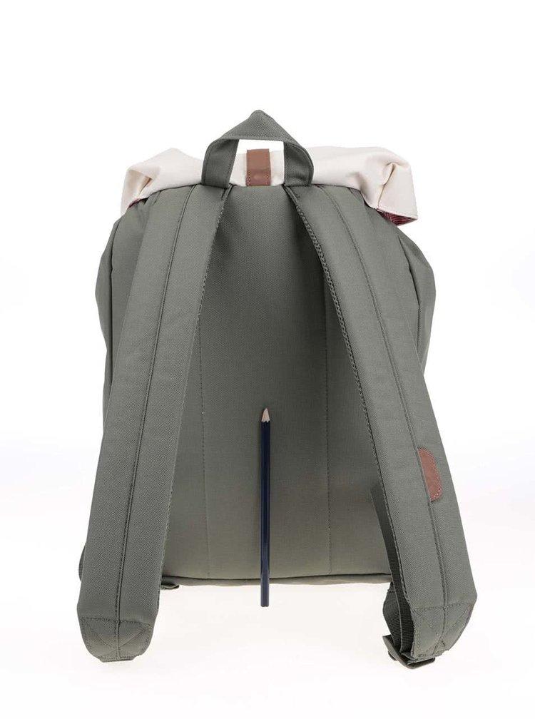 Krémovo-khaki batoh Herschel Post