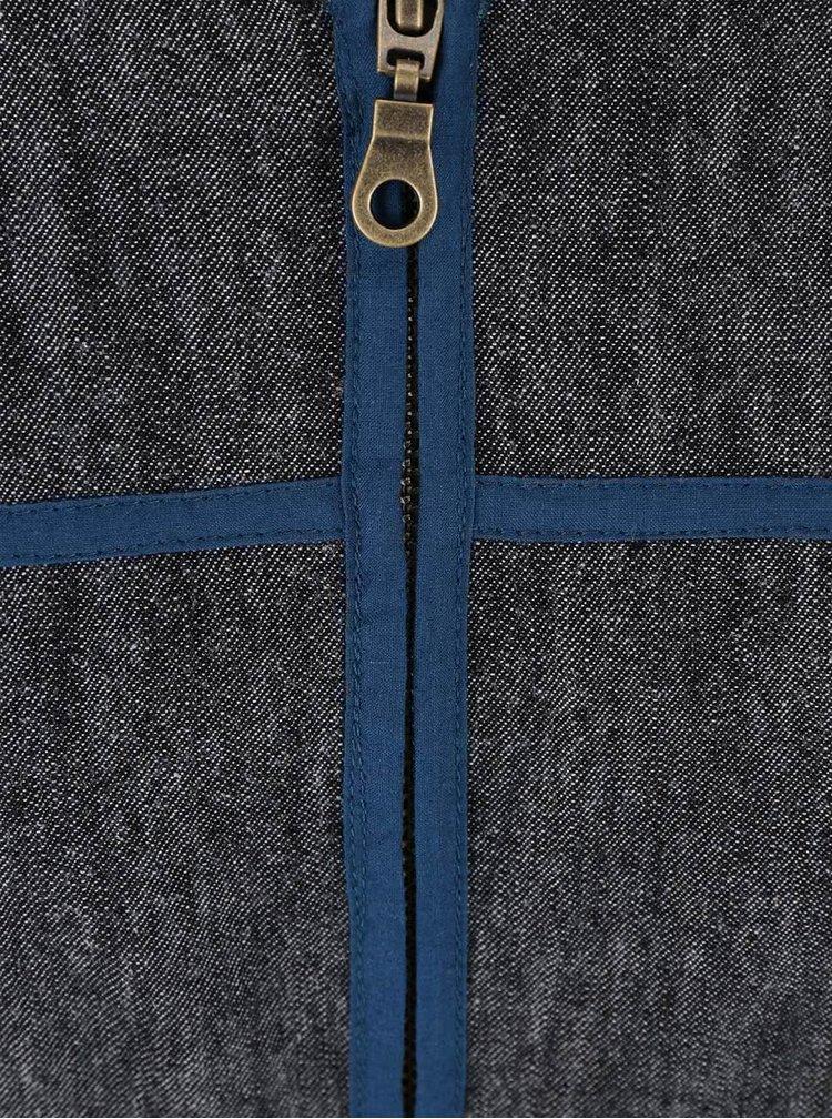 Modrá denimová bunda Tranquillo Stormy