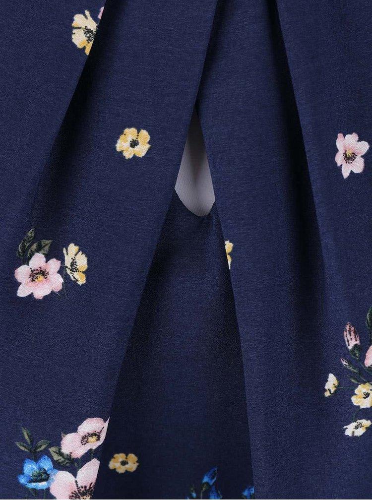 Modrá kvetovaná blúzka Dorothy Perkins Petite