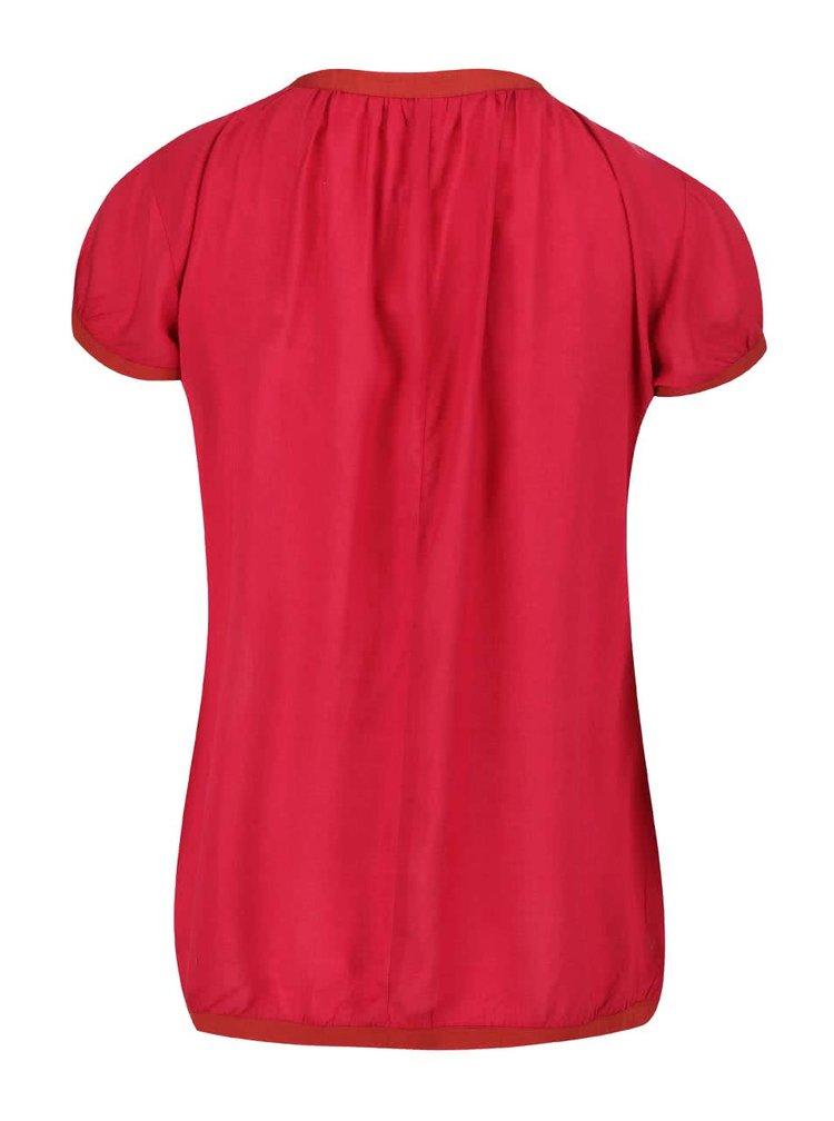 Červený top Tranquillo Modala