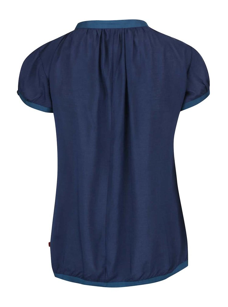 Tricou Tranquillo Modala albastru navy