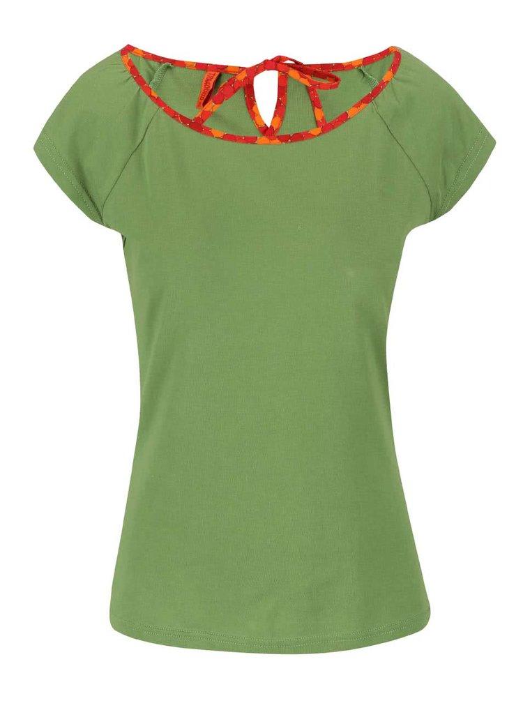 Tricou verde Tranquillo Grashoper