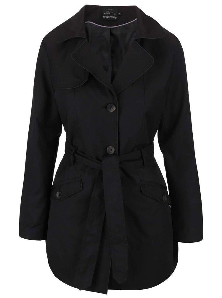 Černý lehký kabát ONLY Molly