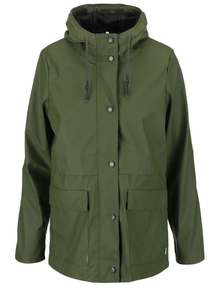 Jachetă impermeabilă ONLY Train, de culoare verde