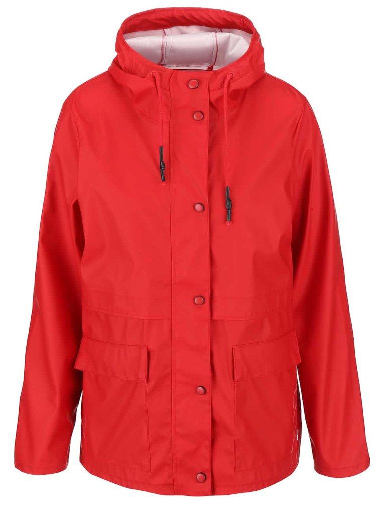 Červená nepremokavá bunda ONLY Train