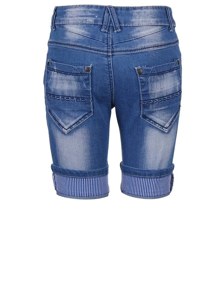 Modré klučičí džínové kraťasy Blue Seven