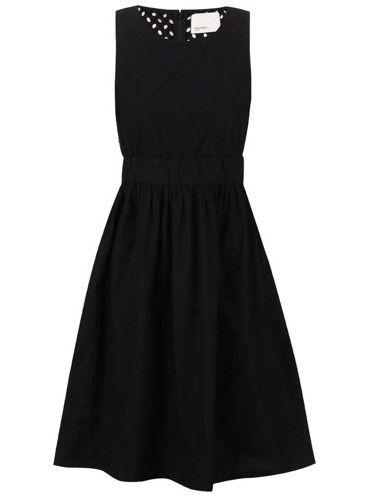 Čierne šaty bez rukávov VERO MODA Libby