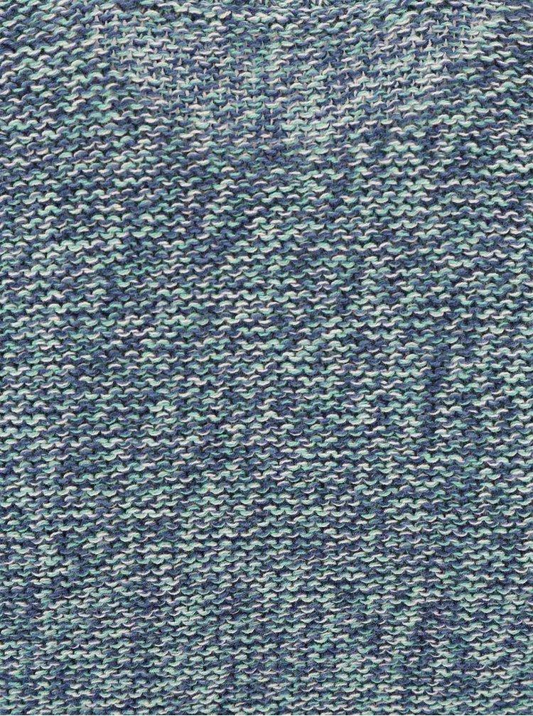 Bluză Blend albastru/verde