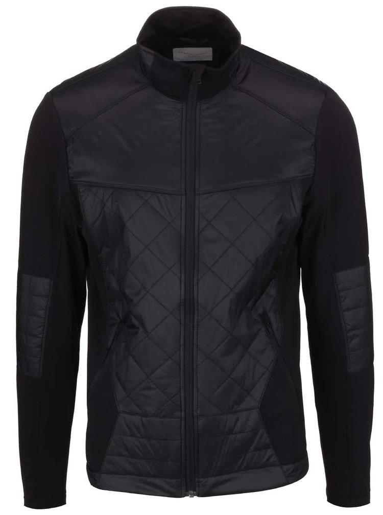 Jachetă matlasată Selected Homme Initial de culoare neagră