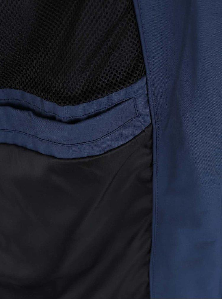 Tmavě modrá bunda s kapucí Blend