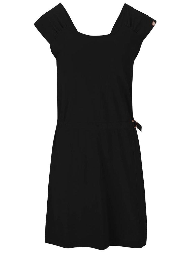 Černé šaty Ragwear Bianka