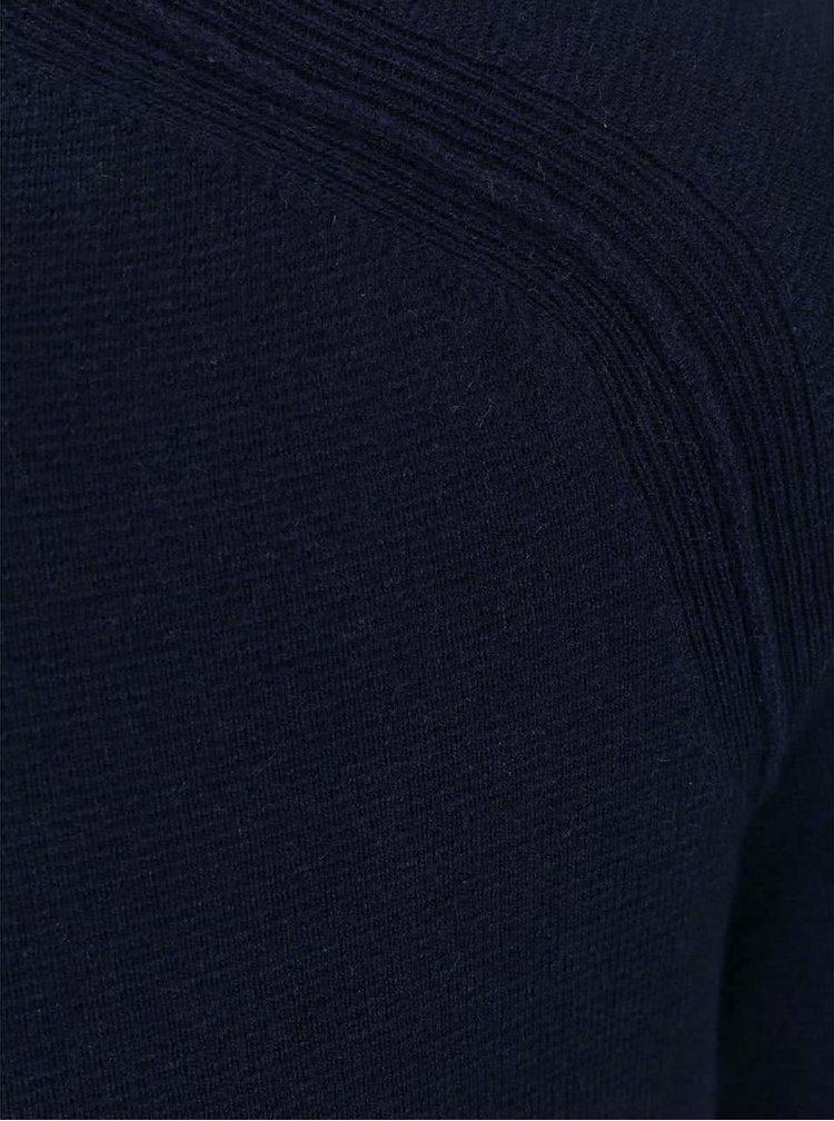Tmavě modrý vlněný svetr J.Lindeberg Texas