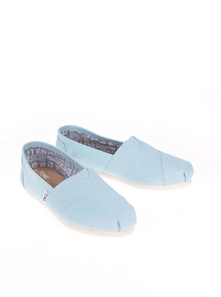 Svetlomodré loafers Toms