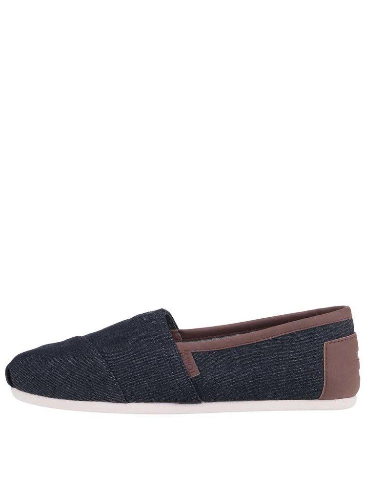 Denimové pánske loafers TOMS Alpargatas