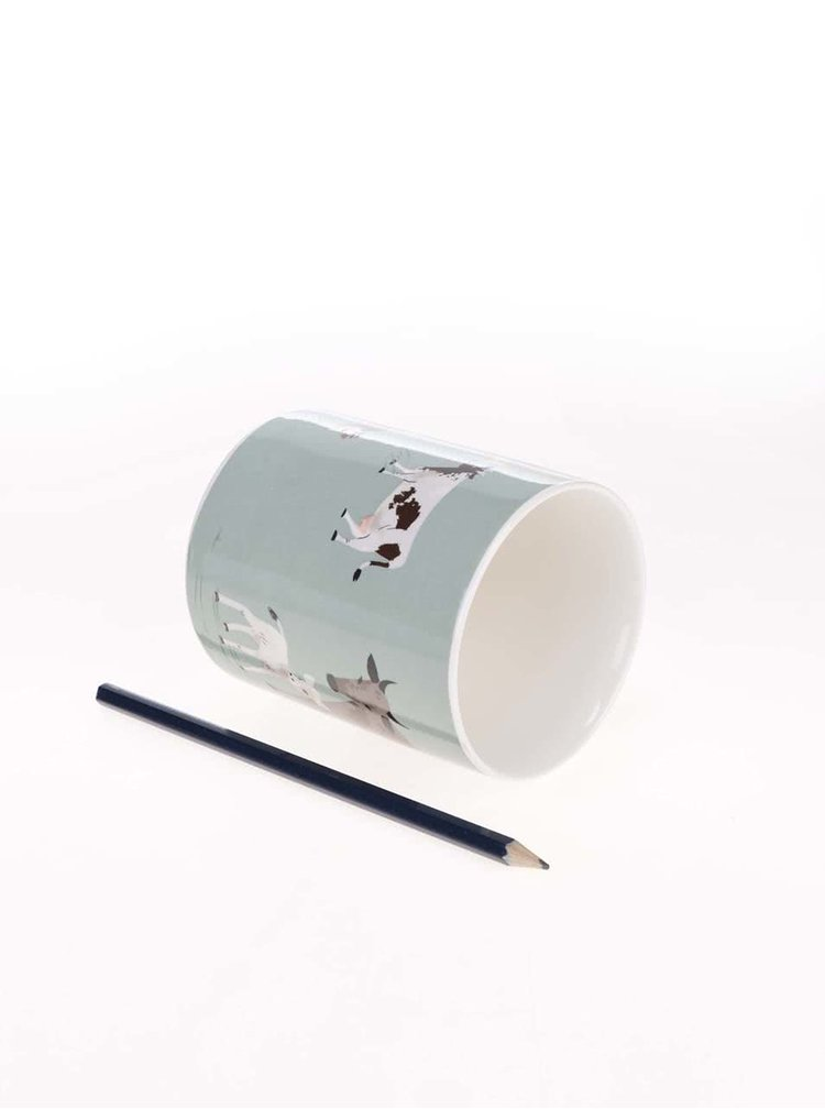 Porcelánový hrnek s dárkovou krabičkou Magpie Hugletts Wood