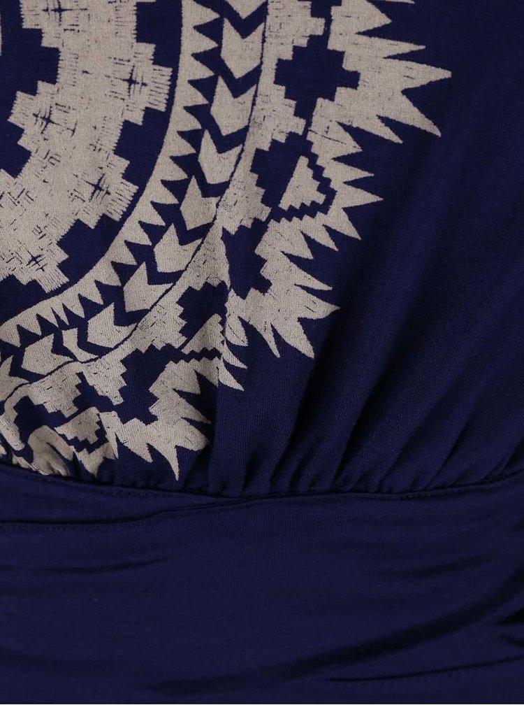 Rochie Desigual Claudio albastră, cu bretele subțiri
