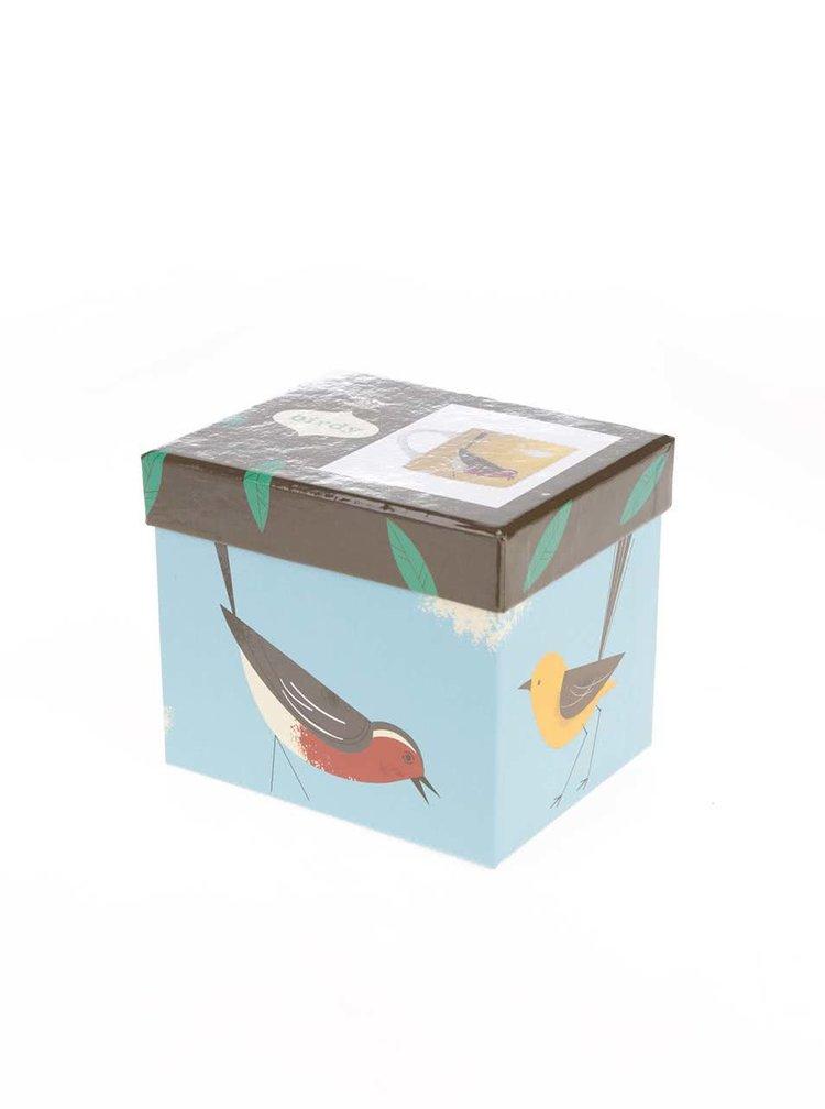 Cana Magpie Wagtail cu pasare