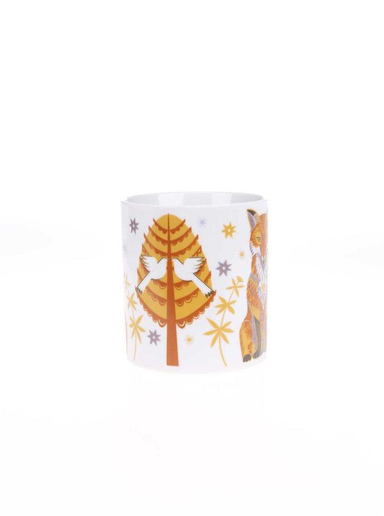 Porcelánový hrnek s liškou v dárkové krabičce Magpie