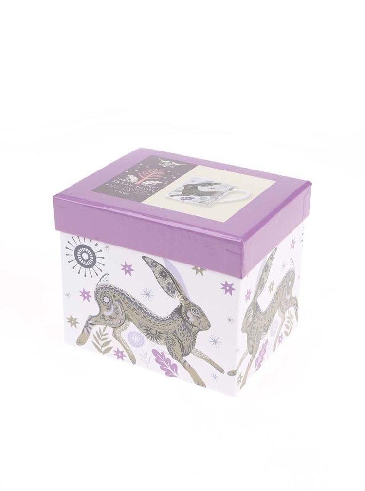 Porcelánový hrnek s dárkovou krabičkou Magpie