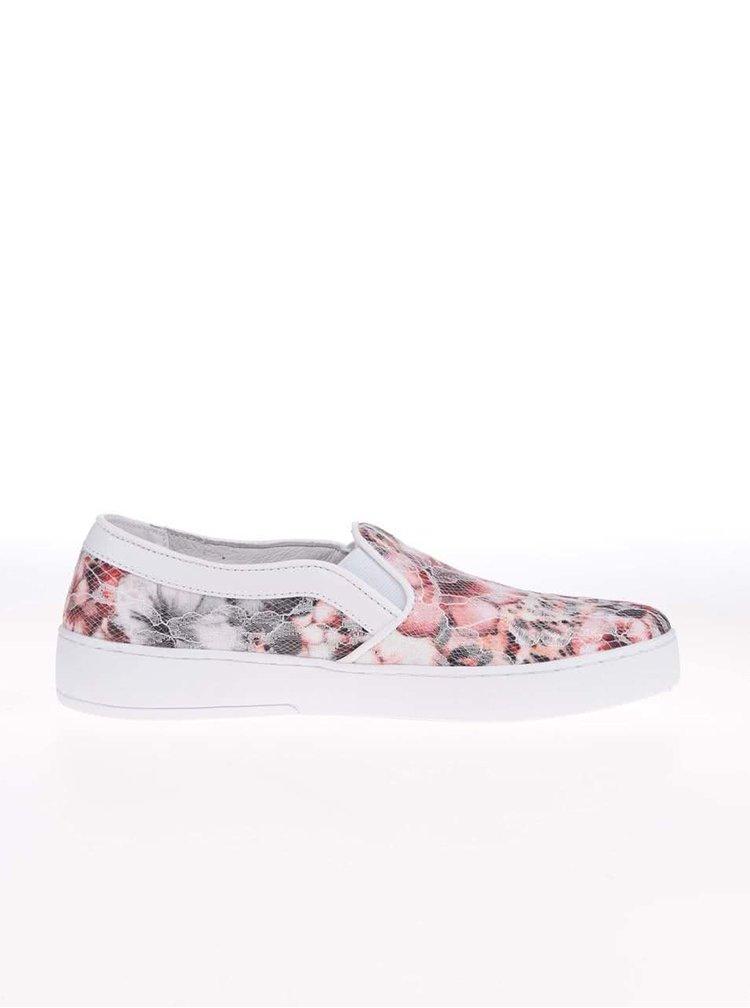 Pantofi sport de damă Bugatti, cu model floral