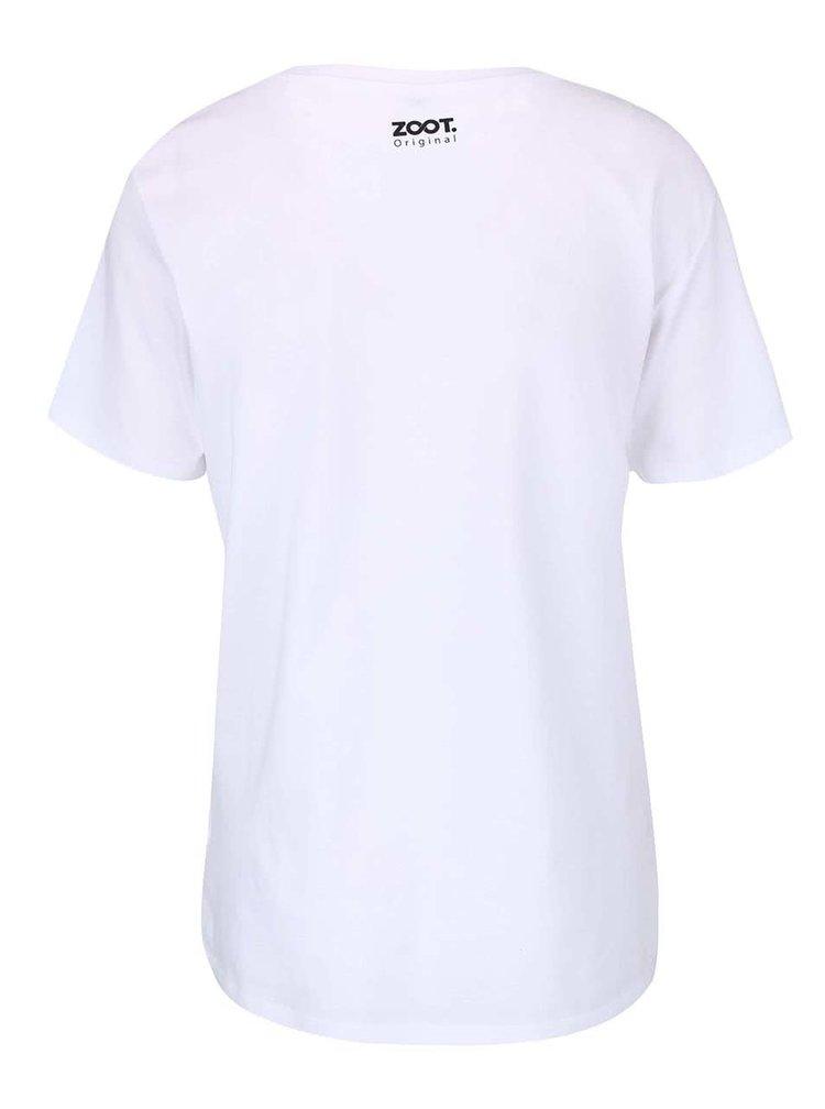 Biele dámske tričko ZOOT Originál Necítím se ve své kůži