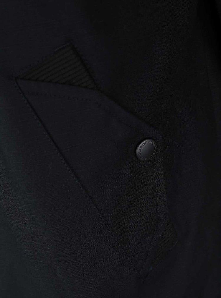 Hanorac cu glugă Ragwear Eagle de culoare neagră