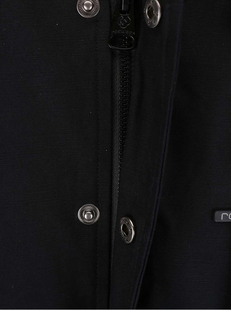 Černá pánská bunda s kapucí Ragwear Eagle