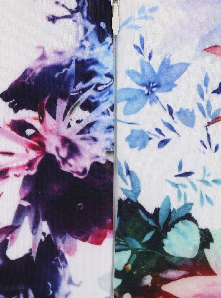 Rochie bodycon cu model floral AX Paris