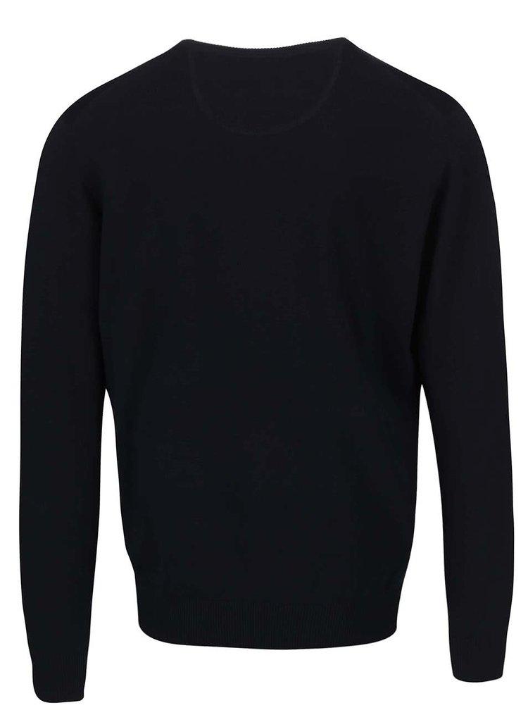 Tmavomodrý sveter Fynch-Hatton