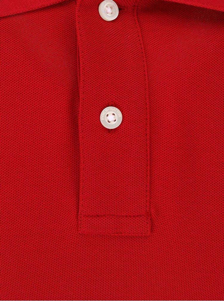 Červená polokošeľa Fynch-Hatton
