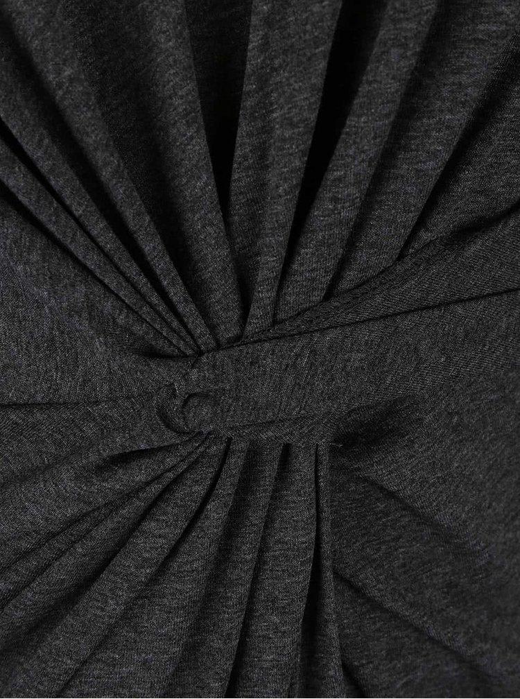Šedé šaty s 3/4 rukávy Dorothy Perkins Curve