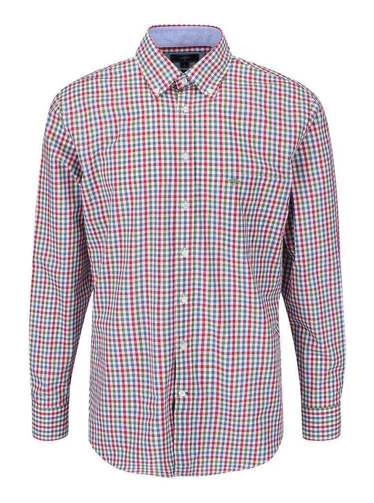 Zeleno-červená kockovaná košeľa Fynch-Hatton