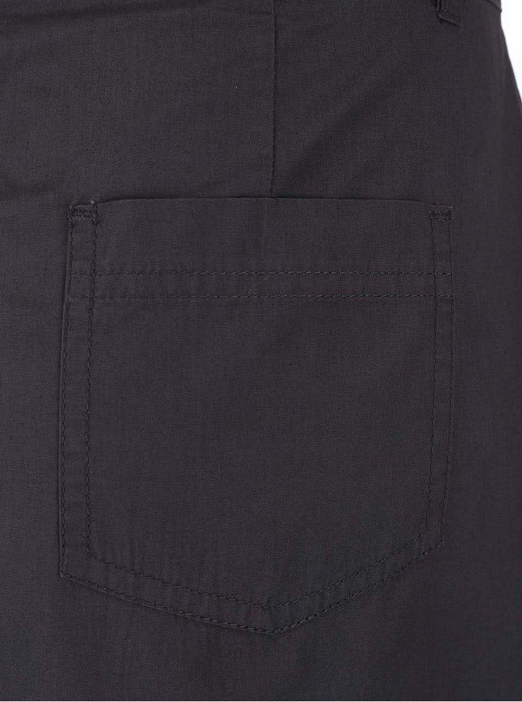 Sivá sukňa s vreckami Dorothy Perkins
