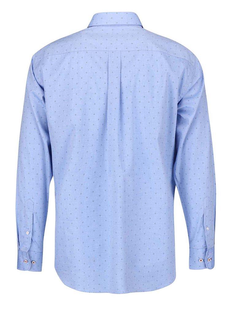 Modrá košeľa so vzorom Fynch-Hatton