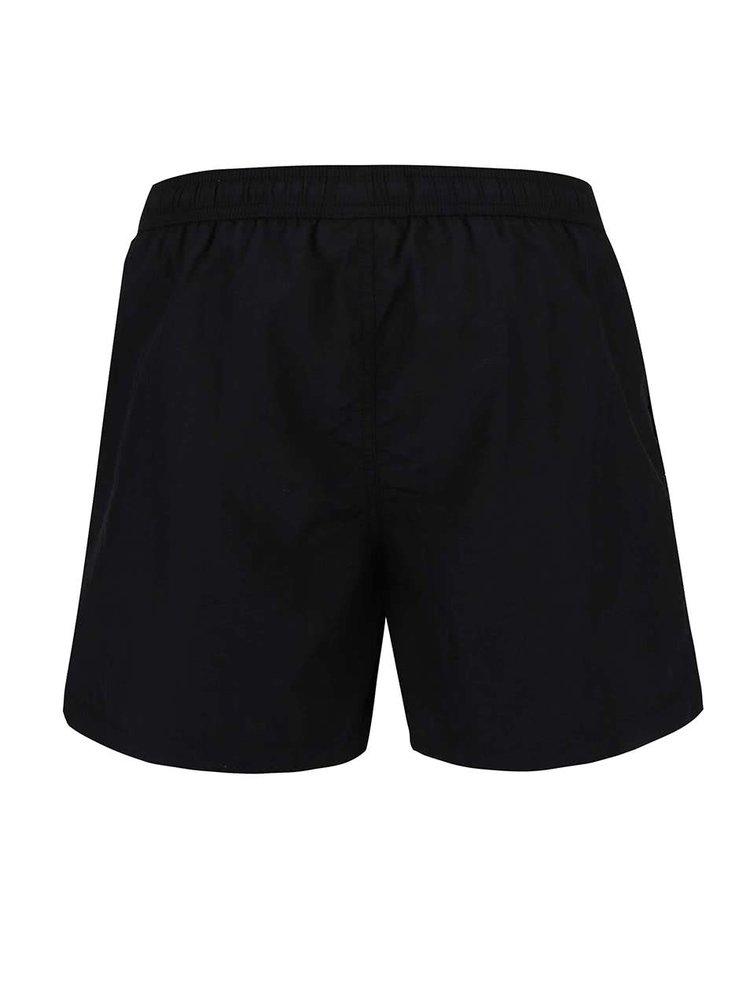 Pantaloni de plaja Jack & Jones Malibu negri