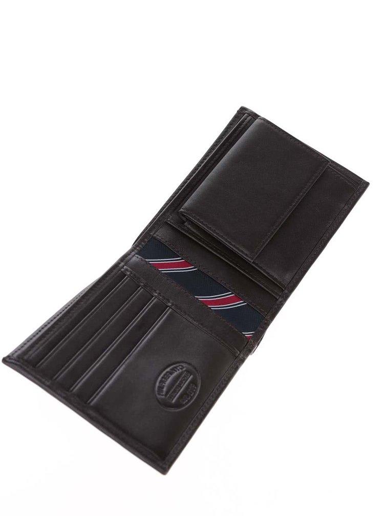 Hnědá pánská kožená peněženka Tommy Hilfiger