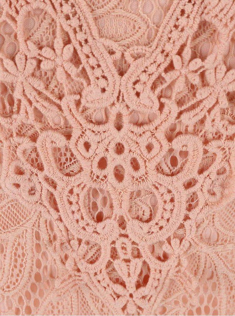 Marhul'ové čipkované šaty VILA Mialy