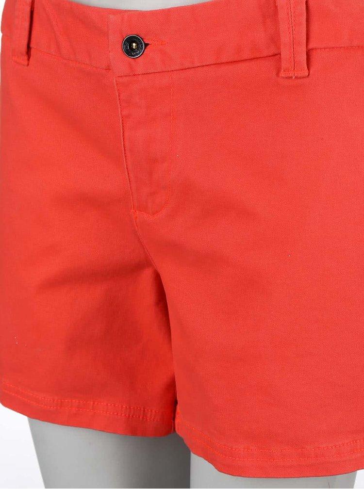 Pantaloni scurți de damă  Burton Mid, de culoare roșie