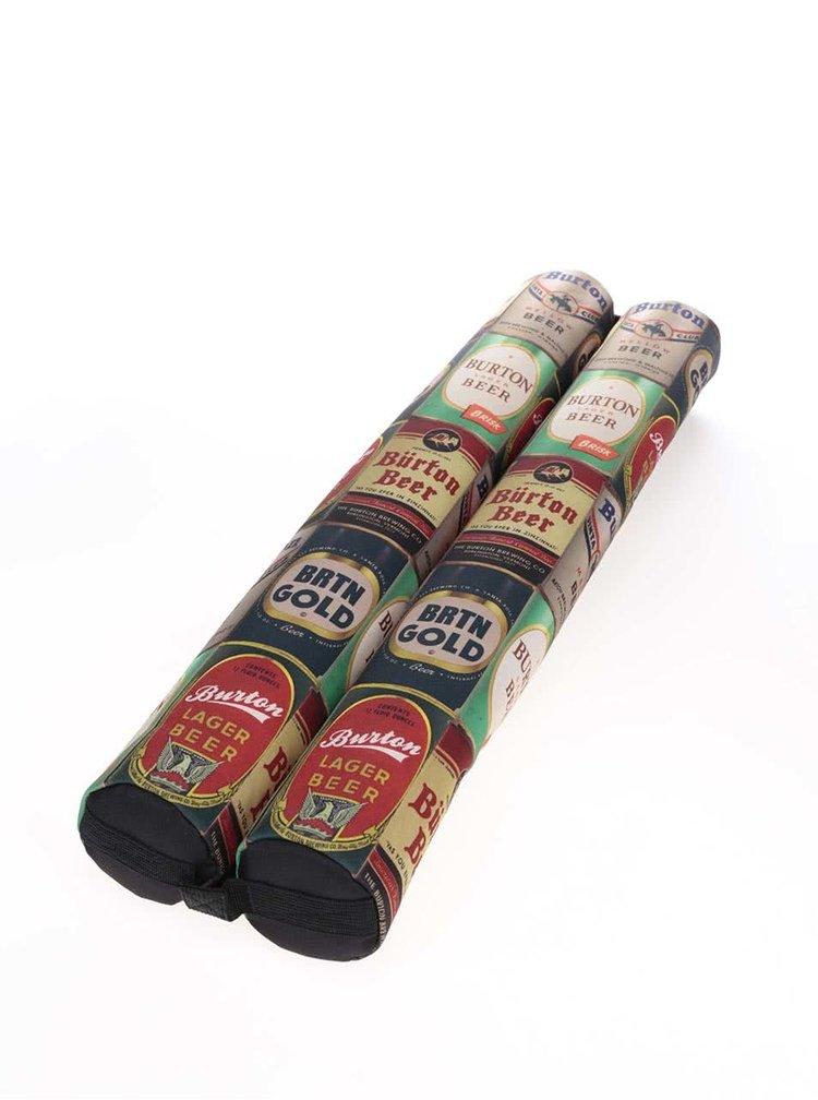 Farebné dvojité puzdro na plechovky Burton Double Beeracuda