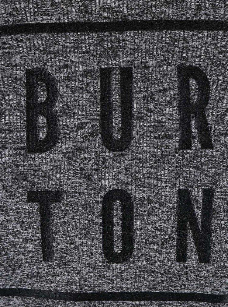 Tricou Burton Quartz, de culoare gri