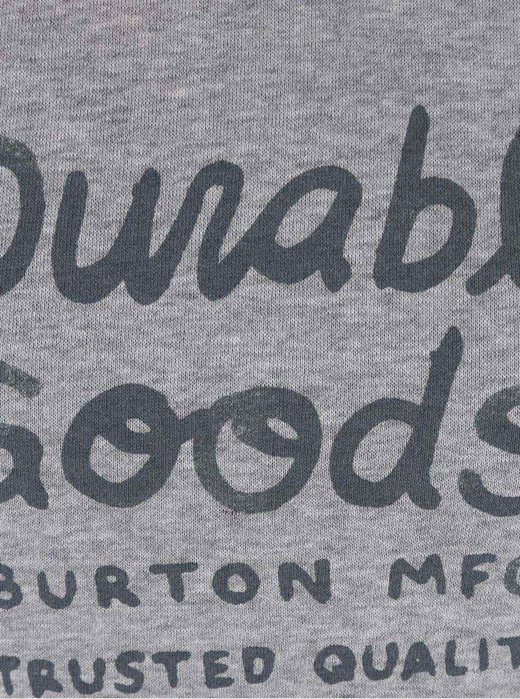 Tricou Burton Dalphine, de culoare gri