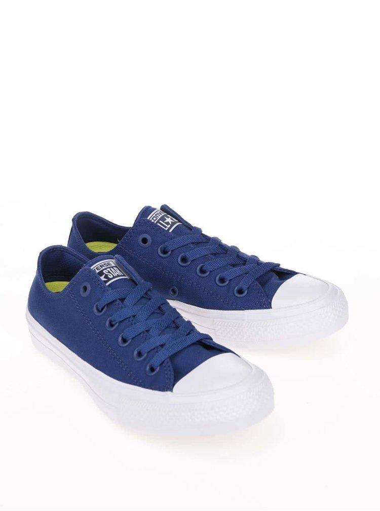 Pantofi sport unisex Converse Chuck Taylor All Star II alb cu albastru