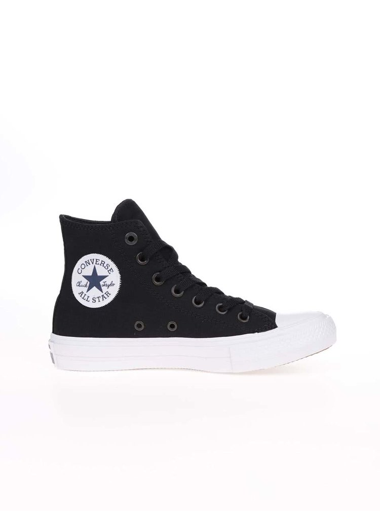 Bílo-černé unisex kotníkové tenisky Converse Chuck Taylor All Star II