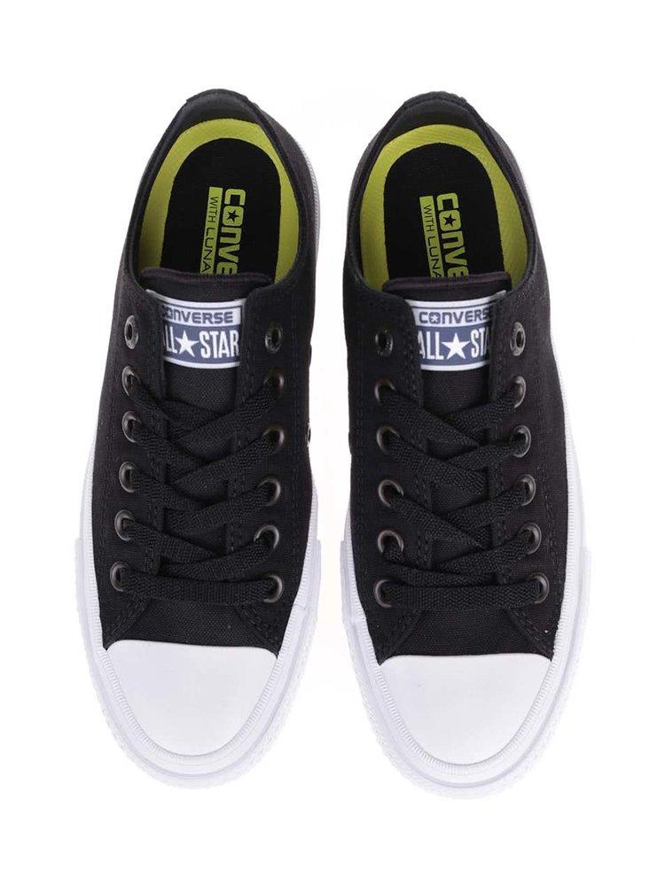 Pantofi sport unisex Converse Chuck Taylor All Star II alb cu negru