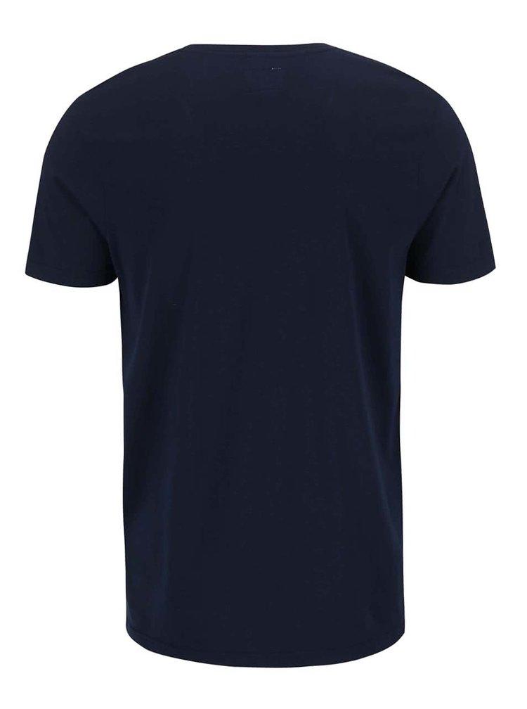 Tmavě modré triko s potiskem Shine Original Rider