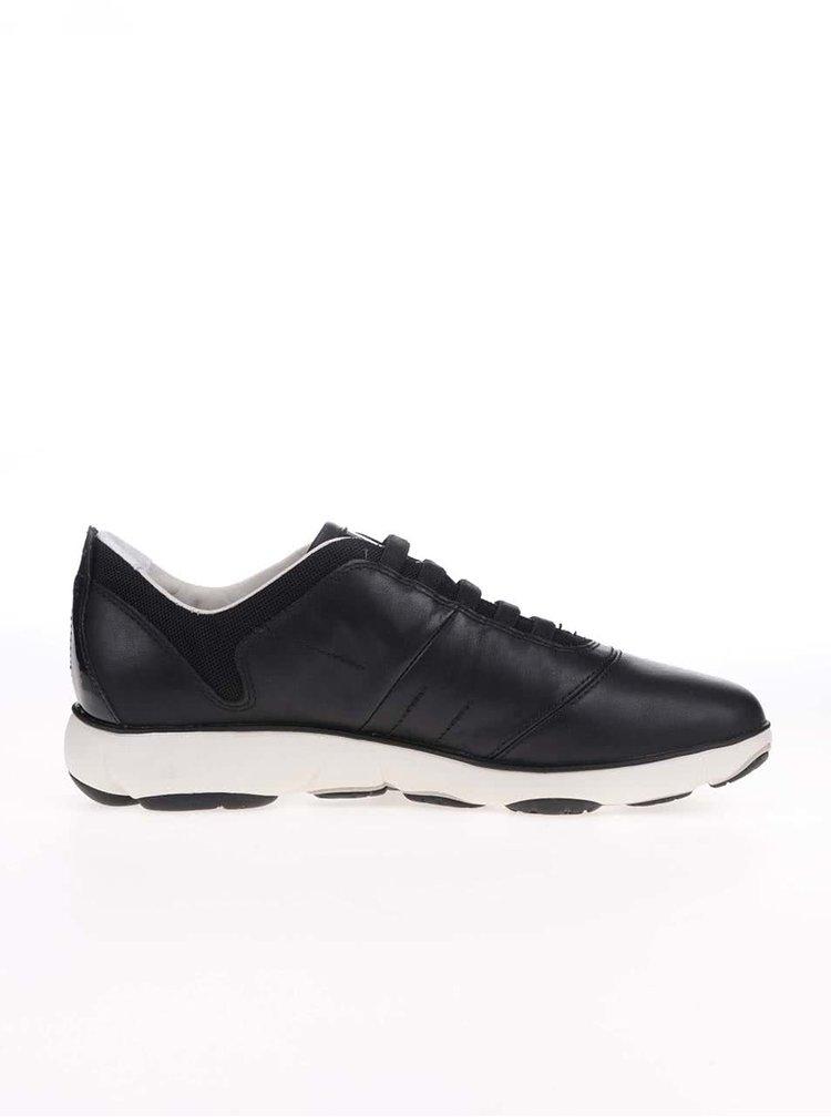 Pantofi sport Geox Nebula negri, din piele